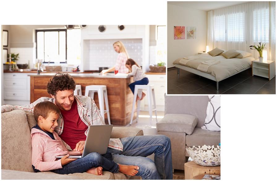 Mieten Sie Möbel, während Sie warten